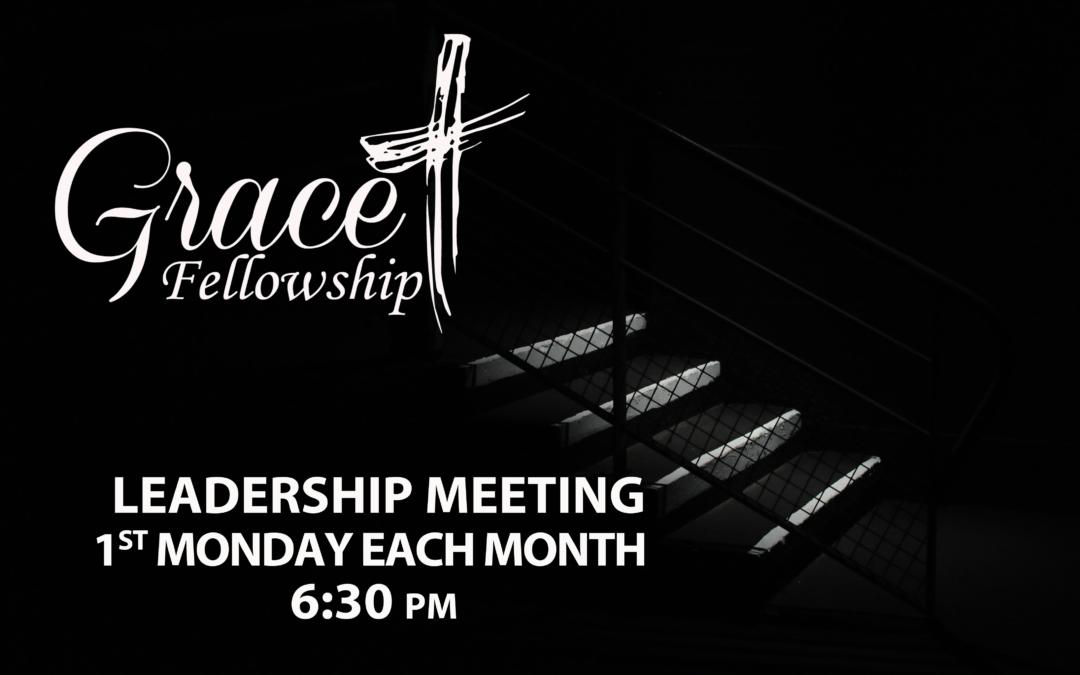 Monthly Leadership Meeting