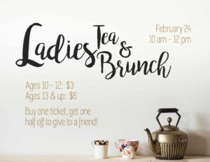 Ladies Tea and Brunch